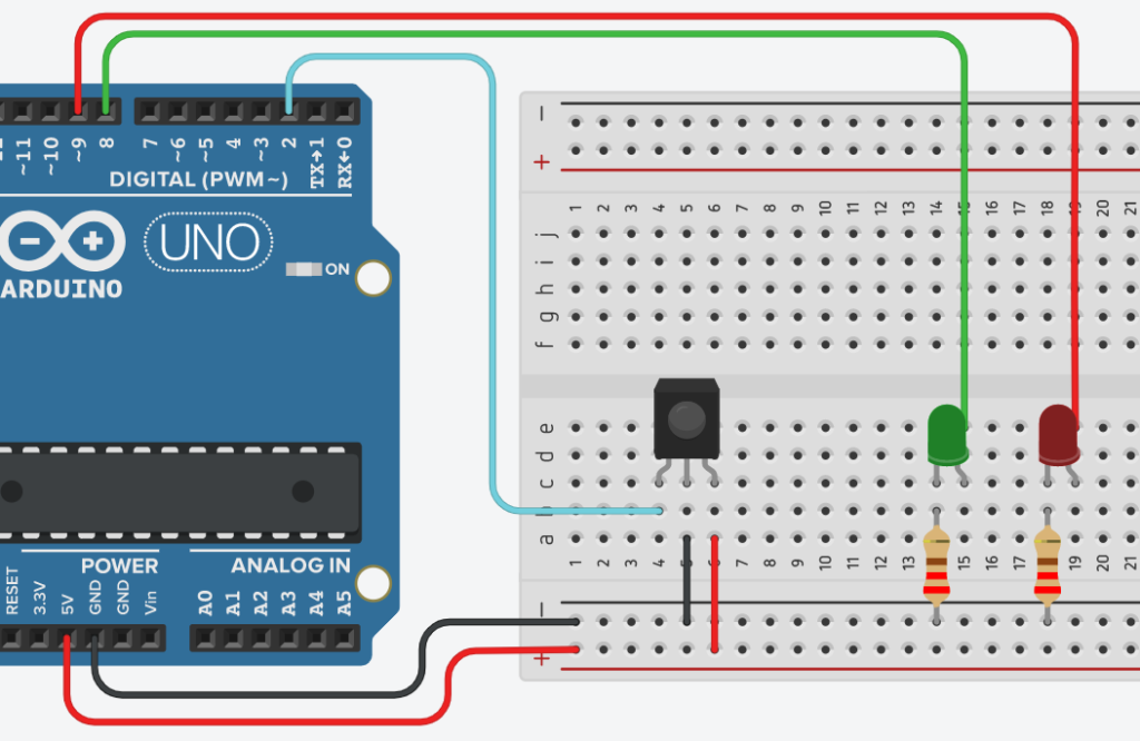 arduino ir led control