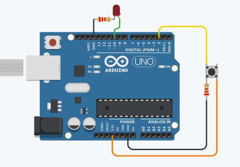 arduino pushbutton button debouncing
