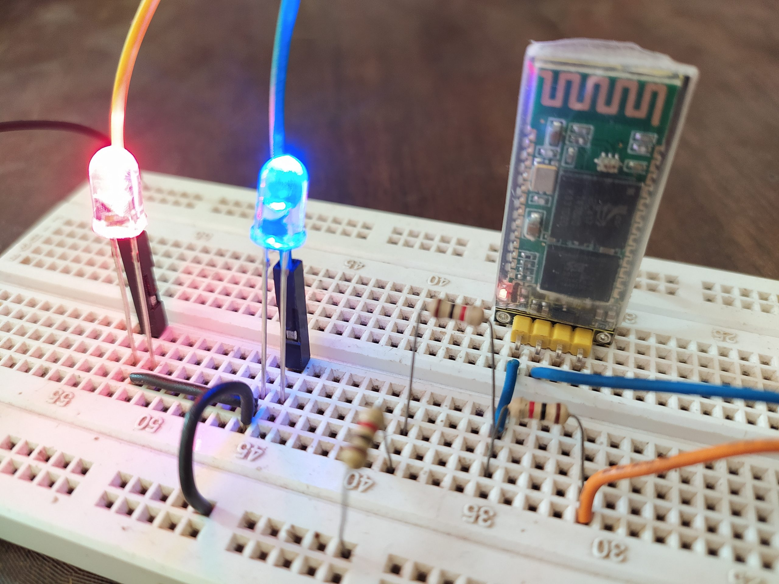 arduino bluetooth control hc06