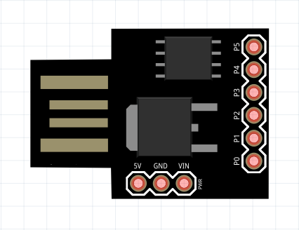 ATtiny85 development board