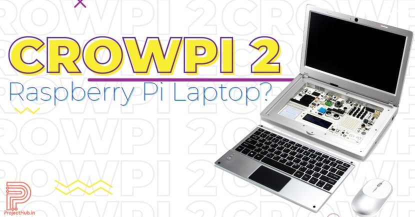 raspberry pi laptop crowpi 2