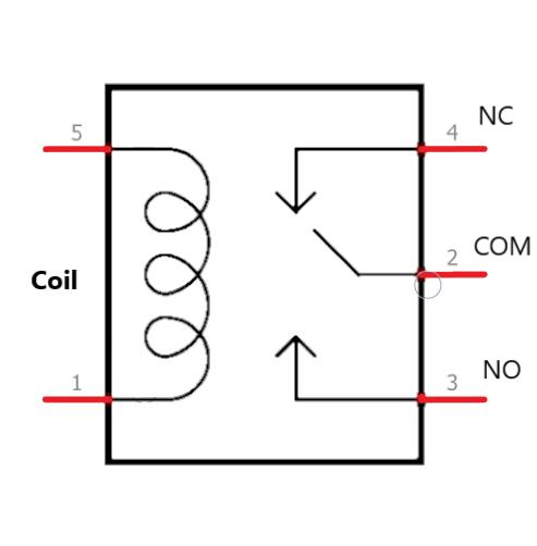 Relay symbol relay circuit diagram