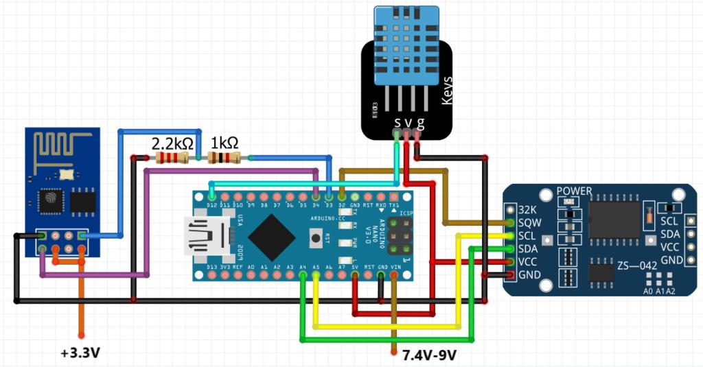 Weather monitoring and smart gardening using arduino nano